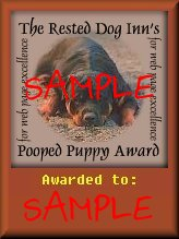 sample award